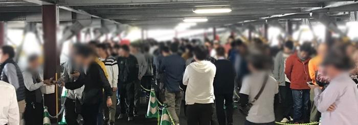 抽選会場①(新栄)